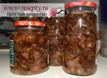 Рецепт засолка грибов на зиму в банкахы
