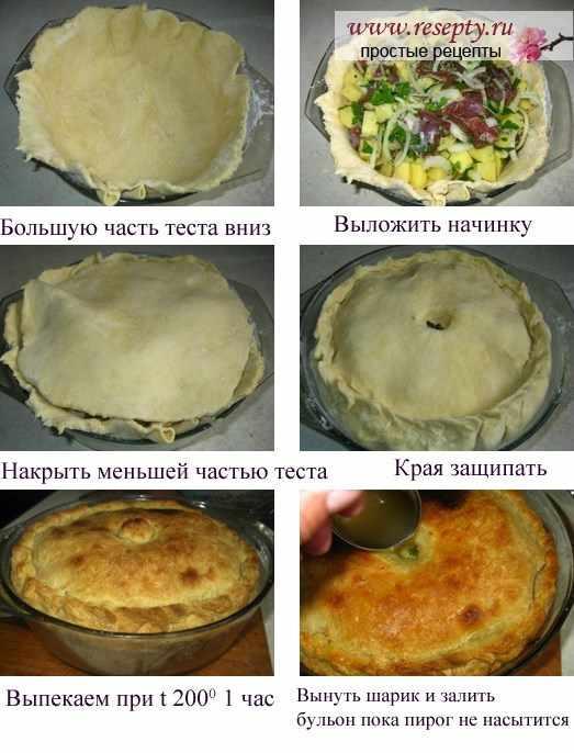 Рецепт балиш по татарски пошаговый рецепт с